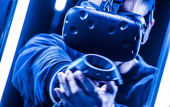 experiential marketing virtual reality event interactive experience VR 360 video Carry Guard HTC Vive